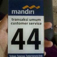 Photo taken at Bank Mandiri by Esterina d. on 11/14/2012