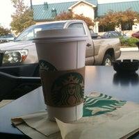 Photo taken at Starbucks by Tim R. on 10/14/2012