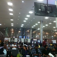 Photo taken at Pune International Airport (PNQ) by Ramesh R. on 10/26/2012