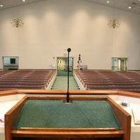Photo taken at Hope Baptist Church by Stacey M. on 11/8/2012