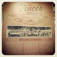 Photo taken at Vince's Spaghetti by Joshua S. on 12/2/2012