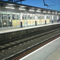 Photo taken at Luton Airport Parkway Railway Station (LTN) by Claire B. on 10/16/2012