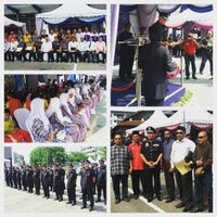 Photo taken at Ibu Pejabat Polis Daerah Klang Selatan by Azhar A. on 3/25/2016