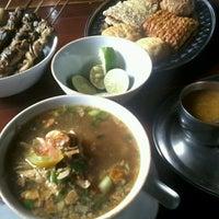 Photo taken at Soto Bangkong by DJ Lisa D. on 4/27/2014