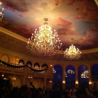 Photo taken at Be Our Guest Restaurant by Antônio Álvaro C. on 12/31/2012
