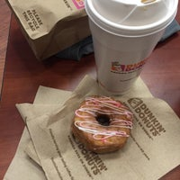 Photo taken at Dunkin' Donuts by Sabrina H. on 4/1/2016
