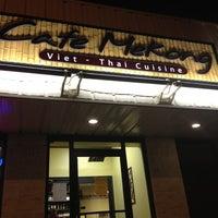 Photo taken at Cafe Mekong by Megan P. on 12/15/2012