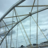 Photo taken at Dechatiwong Bridge by mmymint' on 6/30/2016