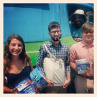 Photo taken at Amnesty International USA by Ben & Jerry's Truck East on 7/9/2013