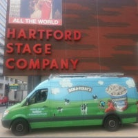 Photo taken at Hartford Stage by Ben & Jerry's Truck East on 8/28/2013