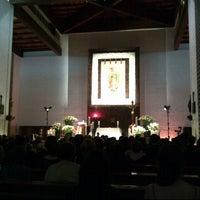 Photo taken at Parroquia de Nuestra Señora de Guadalupe by Miguel P. on 11/4/2012