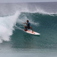 Photo taken at Banzai Pipeline by Tyler G. on 12/15/2013