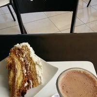 Photo taken at Cafe De La Avenida by Yazmina C. on 11/23/2013