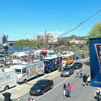 Photo taken at Food Truck Festival Troy by Brian B. on 5/4/2013