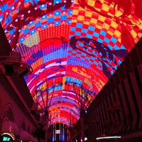 Photo taken at Fremont Street Experience by Khaled A. on 11/16/2012