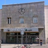 Photo taken at Tarragona Railway Station by Pepe M. on 5/4/2013