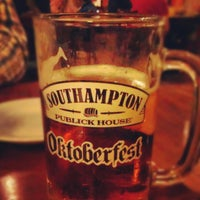 Photo taken at Southampton Publick House by Diana C. on 9/28/2012