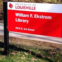 Photo taken at Ekstrom Library by Abe R. on 1/20/2013