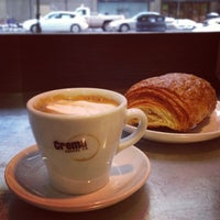 Photo taken at Crema Coffee by Jim P. on 1/4/2013