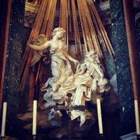 Photo taken at Chiesa di Santa Maria della Vittoria by Rachel S. on 7/5/2013