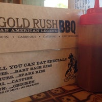 Photo taken at Gold Rush Bar-B-Q by David B. on 6/22/2014