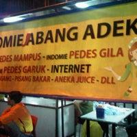 Photo taken at Indomie Abang Adek by Kusmanto C. on 4/13/2013