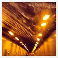 Photo taken at Elbtunnel by Daniela W. on 3/26/2013