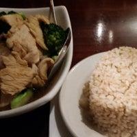 Photo taken at My Thai Restaurant by Yul K. on 1/1/2015