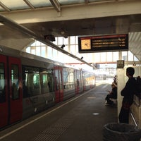 Photo taken at Metrostation Spijkenisse Centrum by Tessa Yved S. on 11/13/2015