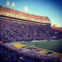 Photo taken at Tiger Stadium by Daniel K. on 11/18/2012