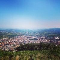Photo taken at Cima del Naranco by Miguel Z. on 8/18/2013