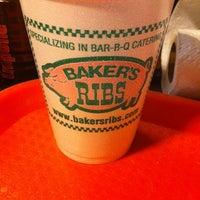 Photo taken at Baker's Ribs by Ashton P. on 1/11/2013