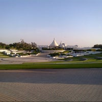 Photo taken at Al Mamzar Park by Uluc A. on 6/1/2013