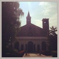 Photo taken at Abbazia di Chiaravalle by Nick G. on 6/17/2013
