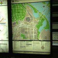 Photo taken at Pentagon Metro Station by Koji A. on 5/18/2013
