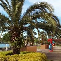 Photo taken at Frances Langford Promenade by Ross on 3/22/2016