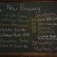 Photo taken at Lodi Beer Company by AAARenee on 4/12/2013