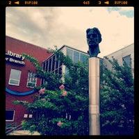 Photo taken at Frank Zappa Statue by Matt K. on 9/22/2012
