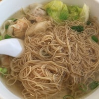 Photo taken at Wah Kee Noodle Restaurant by JY on 9/17/2015