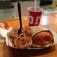 Photo taken at brgr by Itai N. on 3/31/2013