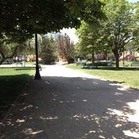 Photo taken at Plaza Las Lilas by Alejandra S. on 11/14/2012