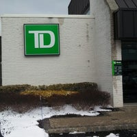 Photo taken at TD Bank by Jeff W. on 2/3/2013