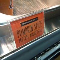 Photo taken at Auntie Anne's by Roz L. on 9/18/2015