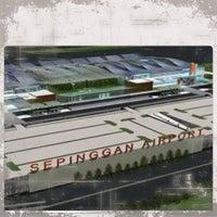 Photo taken at Sultan Aji Muhammad Sulaiman Sepinggan Balikpapan International Airport (BPN) by Wahyu P. on 12/12/2012