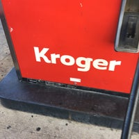Photo taken at Kroger Gas by Steve G. on 8/7/2016