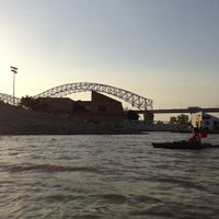 Photo taken at Mud Island River Park by finnious f. on 6/13/2013