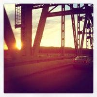 Photo taken at Mississipi river by Tasty Lighting Supply on 1/18/2013
