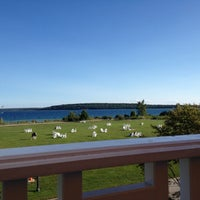 Photo taken at Mission Point Resort by Cara M. on 8/27/2013
