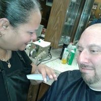 Photo taken at Clifton Barber Shop by Ray F. on 10/31/2013