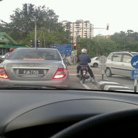 Photo taken at Bayan Lepas Intersection by Enchek Z. on 2/17/2013